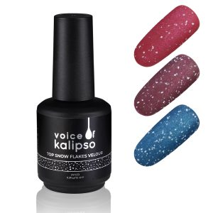 TOP SNOW FLAKES VELOR WITHOUT STICKY LAYER, 15 ML